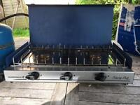 Campingaz cooker stove with gas bottle