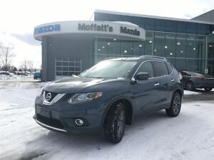 2016 Nissan Rogue SL PREMIUM AWD, LEATHER, SUNROOF