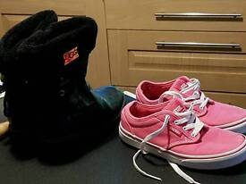Girls boots and trainers great condition