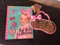 New Jojo Siwa sequin sleeping mask and Be You Journal book