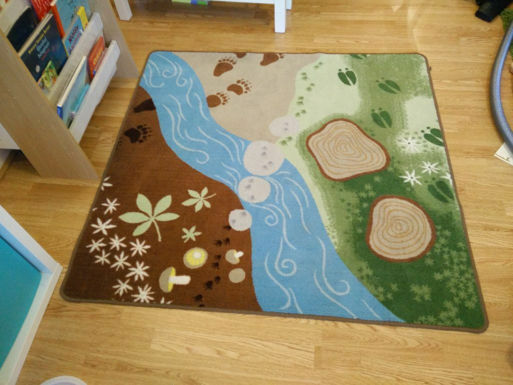 Ikea Vandring Spar Forest Rug In Canary Wharf London