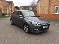2016 HYUNDAI I20 BLUE DRIVE SE, NEARLY NEW, SERVICE HISTORY, LOW MILEAGE 13k, PARKING SENSOR, CRUISE