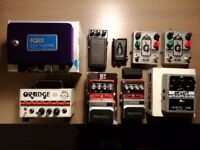 Big Guitar Pedals and More CLEAR OUT !!!