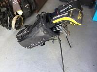 Full set of MacGregor irons, King Cobra & Taylormade drivers & Odessey putter