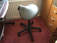SALLI. Classic SADDLE chair, office/working chair which is ergonomic. Improves posture.