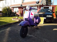 2014 LML star Automatic ,12 Months MOT, Nice scooter