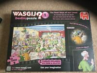 The best days of our lives Wasgij jigsaw puzzle. Includes two puzzles.