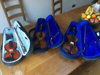 Violin's for sale (x3 stentor violins that Akermans sell)
