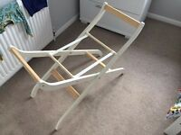 John Lewis Moses basket, and stand from Mothercare