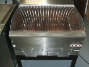 "Charcoal Broiler 36"" Garland Used 90 Day Warranty parts and Labor! New and Used Restaurant Equipment Check out our Sale!"