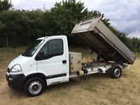 VAUXHALL MOVANO 2.5 DIESEL TIPPER TRUCK 2008 08-REG ONLY 80,000 MILES WITH FULL SERVICE HISTORY