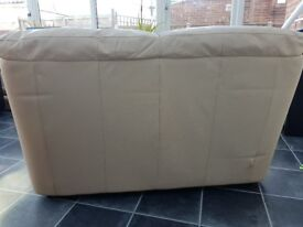 Sofa 2 seater Cream FREE