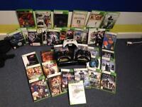 Xbox 360 console and massive game bundle