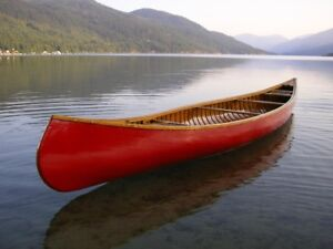 Looking for CANOE preferably wooden