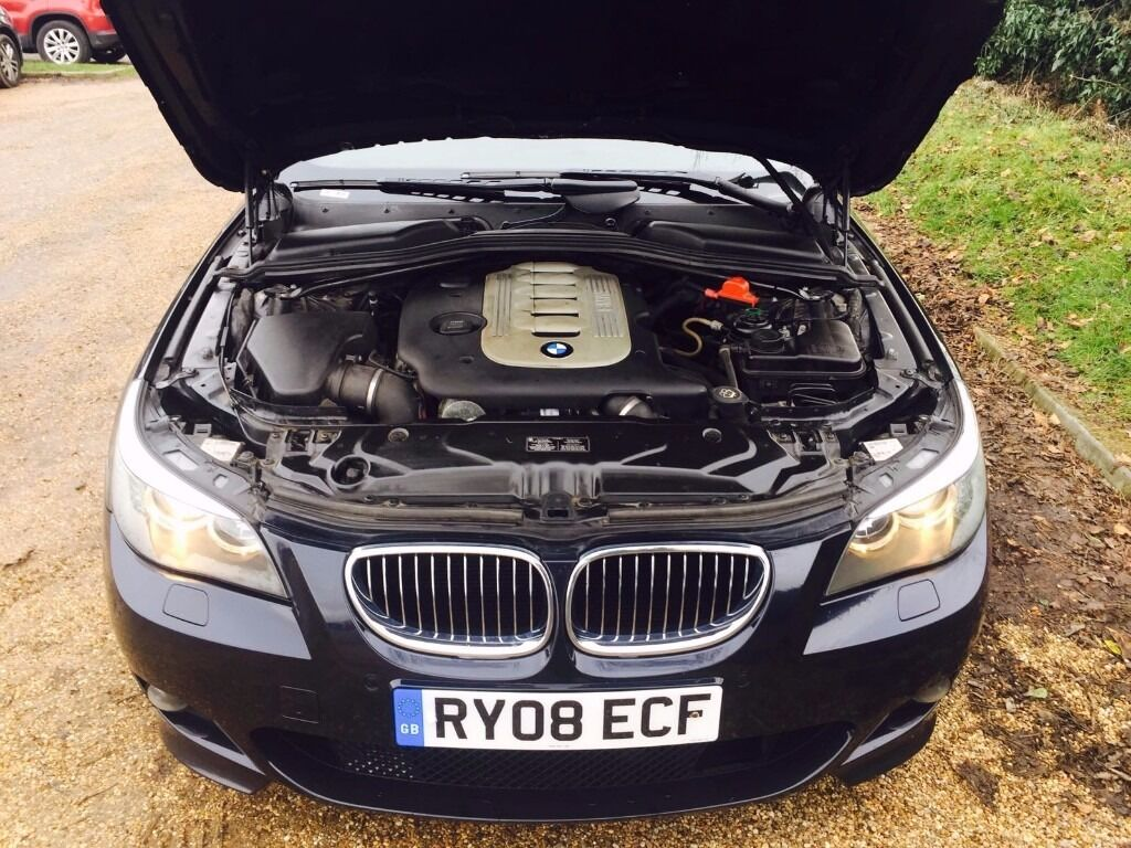 2008 bmw e60 535d m sport twin turbo diesel fsh 1 owner in high wycombe buckinghamshire gumtree. Black Bedroom Furniture Sets. Home Design Ideas