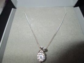 Silver Necklace New in gift box