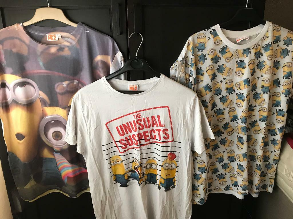 9c8198f17d7b 3 minion T-shirts bundle 18/20 | in South Shields, Tyne and Wear ...