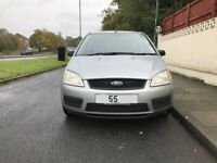 Ford Focus C-max 1.6 TDCI LX for sale, long MOT, service history, drives perfect.