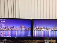 """DELL Monitors 24"""" working in good Condition"""