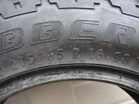 Tyre 215 65 16 General Graber Tyre 4x4 Good Tread