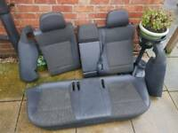 Vectra c half leather seats and door cards