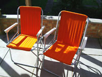 Chairs for Patio, Garden or Picnic