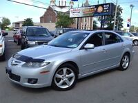 2007 Mazda MAZDA6 GS-V6, 174KM, SUNROOF, ACCIDENT FREE, V