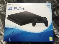 PS4 Slim 500gb - BRAND NEW IN BOX AND ALL SEALED!