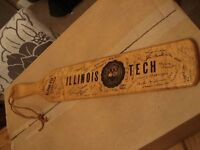 """Old Hickory Paddle Co Alpha Phi Chapter Illinois Tech 22"""" Inch Paddle"""