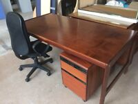 Rosewood Office set