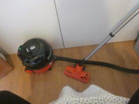 Henry Turbo vacuum cleaner with accessories