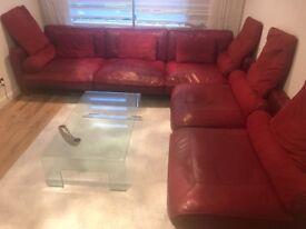 Corner Sofa American Style genuine Kangaroo Leather