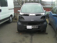 SMART CAR FOUR TWO / 42 BREAKING WINDSCREEN ALL PARTS AVAILABLE