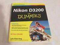 Nikon 3200 For Dummies - New