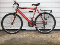 Men's bike £60 OX1 4RW Cheetah 21 - D lock available