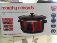 Slow cooker Morphy Richards