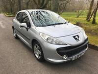 PEUGEOT 207 1.4 HDi Verve 5dr (silver) 2009
