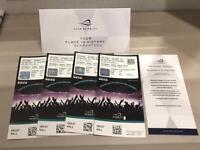2 x Joshua vs Klitschko VIP Hospitality Tickets