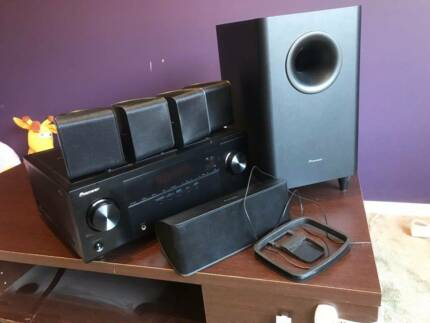 Pioneer HTP-071 VSX-321-K-P Home Theater System with 600W Power,
