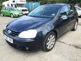 2005/05 VW Golf GT Tdi (140), 5 door, ONLY 78K with FSH!! May 19 MOT, brilliant drive