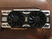 EVGA Nvidia GeForce GTX 1070 SC Gaming 8GB ACX 3.0 graphic card in black