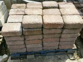 4.9sqm reclaimed large paving blocks