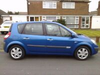 RENAULT SCENIC 2006 1.4 MOT JULY 2018 FAMILY CAR 80K RELIABLE AND ECONOMICAL