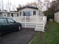 3 bedroom 2015 luxury caravan to rent in the Dorset/ Hampshire border
