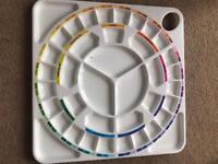 Michael Wilcox School of Colour Oils/Acrylic Palette