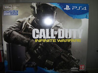 PS4 Slim 500gb Call of Duty Infinite Warfare Console Bundle with more games