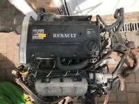 Renault megane f7r 714 engine Clio 16v Williams Renault 5