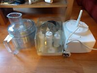 Magimix 5100 Food Processor with accessories, storage box, instructions
