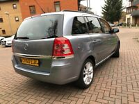 Vauxhall Zafira 1.7 EXCLUSIV CDTI ECOFLEX 5dr , 1 owner (Reg 60)2010