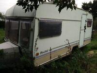Caravan for sale - For renovation project. Roadworthy, electrics work but inside needs renovating